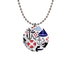 Nautical Collage Button Necklace by StuffOrSomething