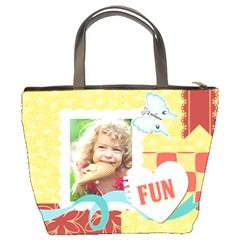 Kids By Kids   Bucket Bag   Fevq29f21211   Www Artscow Com Back