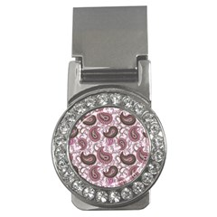 Paisley In Pink Money Clip (cz) by StuffOrSomething