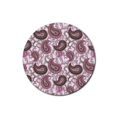 Paisley In Pink Drink Coasters 4 Pack (round) by StuffOrSomething