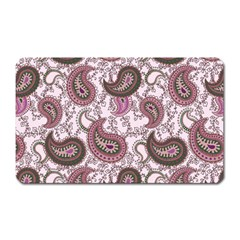 Paisley In Pink Magnet (rectangular) by StuffOrSomething