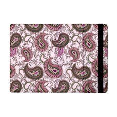 Paisley In Pink Apple Ipad Mini Flip Case by StuffOrSomething