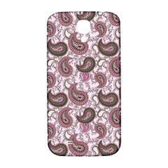 Paisley In Pink Samsung Galaxy S4 I9500/i9505  Hardshell Back Case by StuffOrSomething