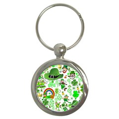 St Patrick s Day Collage Key Chain (round) by StuffOrSomething