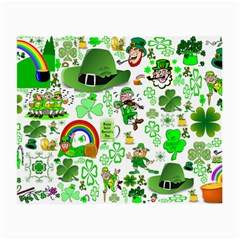 St Patrick s Day Collage Glasses Cloth (small) by StuffOrSomething