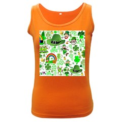 St Patrick s Day Collage Women s Tank Top (dark Colored) by StuffOrSomething