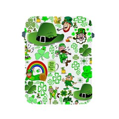 St Patrick s Day Collage Apple Ipad Protective Sleeve by StuffOrSomething