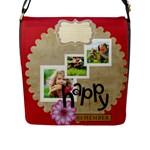 kids - Flap Closure Messenger Bag (L)