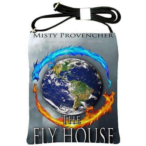 Flyhouseslingbag By Jackie Mcpherson   Shoulder Sling Bag   Tbewmshv9tbf   Www Artscow Com Front