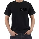 Fly House 2 Small Dragon - Men s T-Shirt (Black) (Two Sided)