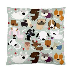Dog Pattern Cushion Case (Single Sided)  by Contest1771913