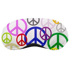 Peace Sign Collage Png Sleeping Mask by StuffOrSomething