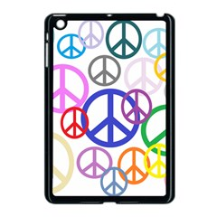 Peace Sign Collage Png Apple iPad Mini Case (Black)