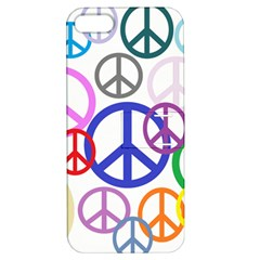 Peace Sign Collage Png Apple Iphone 5 Hardshell Case With Stand by StuffOrSomething
