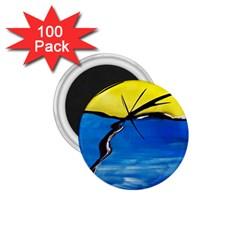 Spring 1 75  Button Magnet (100 Pack) by Siebenhuehner