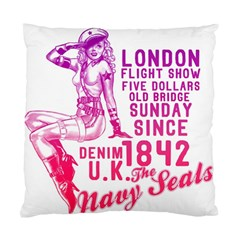 London Flight Cushion Case (single Sided)  by Contest1741083