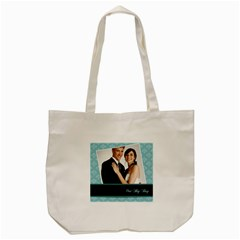 Wedding By Paula Green   Tote Bag (cream)   M7p5dgxfkwko   Www Artscow Com Front