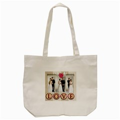Wedding By Paula Green   Tote Bag (cream)   Zckevltrfdk4   Www Artscow Com Front