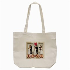 Wedding By Paula Green   Tote Bag (cream)   Zckevltrfdk4   Www Artscow Com Back