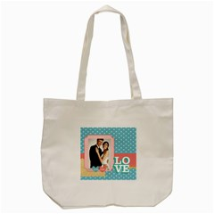 Wedding By Paula Green   Tote Bag (cream)   Z31vyhj7llr7   Www Artscow Com Front