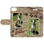 Dog iPhone 5C Leather Folio Case - Apple iPhone 5C Leather Folio Case