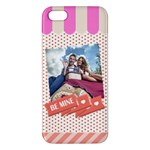 love - iPhone 5S/ SE Premium Hardshell Case