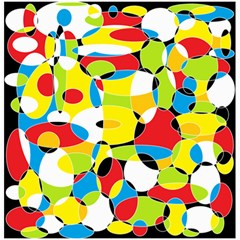 Interlocking Circles Canvas 20  X 20  (unframed) by StuffOrSomething