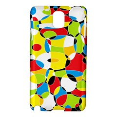 Interlocking Circles Samsung Galaxy Note 3 N9005 Hardshell Case by StuffOrSomething