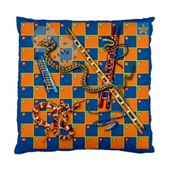 Snakes And Ladders Pillow Cushion Case (two Sided)  by Contest1869921
