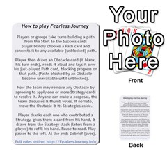 Fearless Journey Strategy Cards V1 1nl By Deborah   Multi Purpose Cards (rectangle)   I0dwaz1h14do   Www Artscow Com Front 51