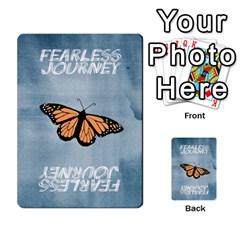 Fearless Journey Strategy Cards V1 1nl By Deborah   Multi Purpose Cards (rectangle)   I0dwaz1h14do   Www Artscow Com Back 9