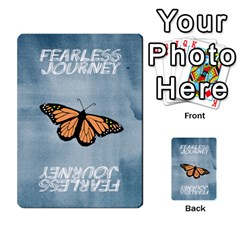 Fearless Journey Strategy Cards V1 1nl By Deborah   Multi Purpose Cards (rectangle)   I0dwaz1h14do   Www Artscow Com Back 2