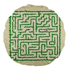A Maze    18  Premium Round Cushion  by Contest1729022