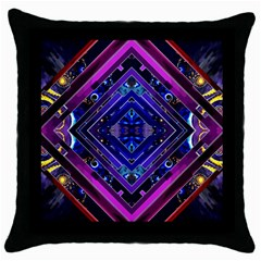 Galaxy Black Throw Pillow Case by Contest1852090