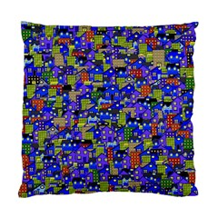 Houses Cushion Case (two Sided)  by Contest1852090