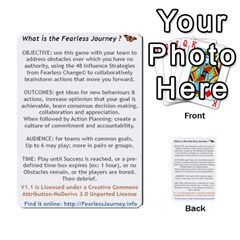 Fearless Journey Strategy Cards V1 2fr By Deborah   Multi Purpose Cards (rectangle)   Fgwq8t730ei8   Www Artscow Com Front 52