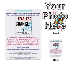 Fearless Journey Strategy Cards V1 2fr By Deborah   Multi Purpose Cards (rectangle)   Fgwq8t730ei8   Www Artscow Com Back 52