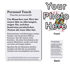 Fearless Journey Strategy Cards V1 2fr By Deborah   Multi Purpose Cards (rectangle)   Fgwq8t730ei8   Www Artscow Com Front 29