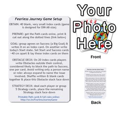 Fearless Journey Strategy Cards V1 2fr By Deborah   Multi Purpose Cards (rectangle)   Fgwq8t730ei8   Www Artscow Com Front 50