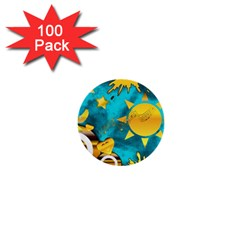 Musical Peace 1  Mini Button (100 Pack) by StuffOrSomething