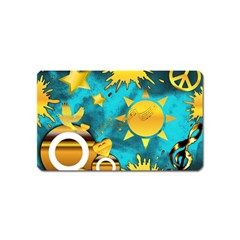 Musical Peace Magnet (name Card) by StuffOrSomething
