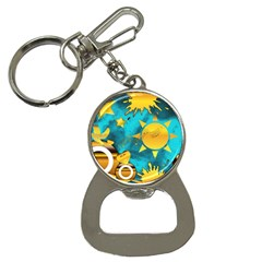 Musical Peace Bottle Opener Key Chain by StuffOrSomething