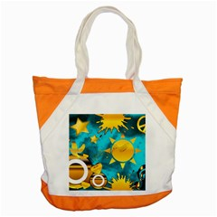 Musical Peace Accent Tote Bag by StuffOrSomething