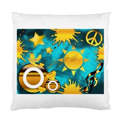 Musical Peace Cushion Case (two Sided)  by StuffOrSomething