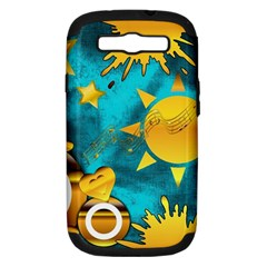Musical Peace Samsung Galaxy S Iii Hardshell Case (pc+silicone) by StuffOrSomething