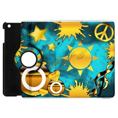 Musical Peace Apple Ipad Mini Flip 360 Case by StuffOrSomething
