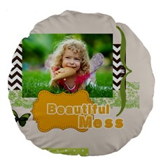 Kids By Kids   Large 18  Premium Round Cushion    C90y2alnkqkb   Www Artscow Com Back