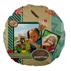 Kids By Kids   Large 18  Premium Round Cushion    9qefa09revdb   Www Artscow Com Front