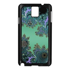 Celtic Symbolic Fractal Samsung Galaxy Note 3 Case (black) by UROCKtheWorldDesign