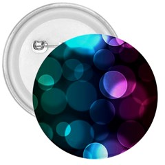 Deep Bubble Art 3  Button by Colorfulart23